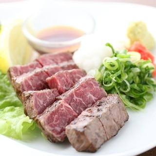厳選された和牛料理も!!