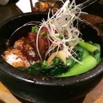 ebisugyouzataihouki - 豚角煮の石焼飯