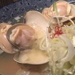 和風楽麺 四代目 ひのでや - はまぐりアップ