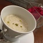 34858297 - 新ごぼうのスープ