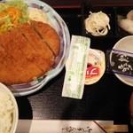 居酒屋 阿部 - ランチ(マグロメンチカツ)