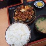 味千ラーメン - 料理写真:焼きホルモン定食1