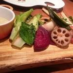 34860092 - 焼野菜盛り