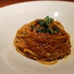 34861800 - ワタリガニのスパゲティ