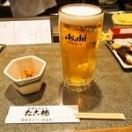 たこ梅 - 生ビール