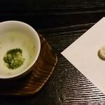 普茶料理 梵 - まず干菓子が出ます