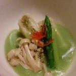 普茶料理 梵 - 2014年5月新緑の頃にふさわしいお料理