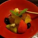 普茶料理 梵 - 夏の水菓子♪