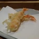 34862630 - 車海老の天ぷら