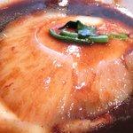 徐福万来集 - 開片フカヒレの定食 1000円 の絹ごし豆腐