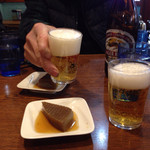 銀座ホール - ビールで乾杯!