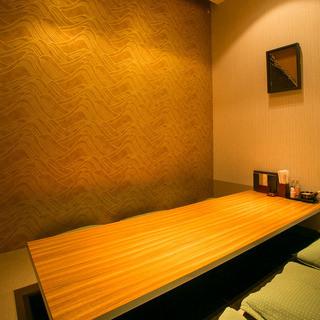 完全個室完備!会食やご宴会、女子会などの集まりにもおすすめ