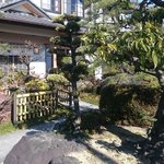 柳川 - 入口は日本庭園