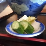 柳川 - 香の物