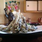 柳川 - 料理写真:どじょうのから揚げ