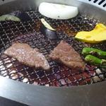 すきやきしゃぶしゃぶ 神戸牛石田 - 無煙ロースターの空調も良い