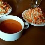 34866128 - スープ&サラダ(ランチセット)