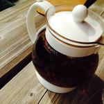 草庵 - 食後の紅茶