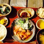 草庵 - 料理写真:日替わりランチ