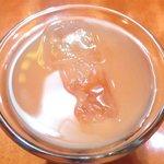 エコ ロロニョン - <'15/02/03撮影>トロピカルローストチキン 500円 のジュース