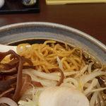 34869032 - 麺とスープのからみ具合
