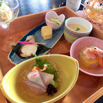 和食 岐備 - 料理写真:季節の箱膳