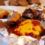 まつい料理店 - 料理写真:チーズハンバーグ