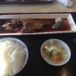 海花亭 - 料理写真:黒ムツの煮魚定食
