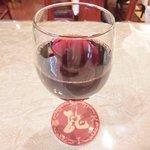 孔子膳堂 - 【'15/02/04撮影】プレミアムランチセット 1000円 の赤ワイン