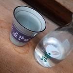 珠のれん - 焼酎お湯割り