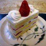 34874639 - 苺のショートケーキ!(2015,02/01)