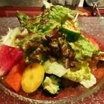 34875113 - 15.02.07 朝採れ野菜のサラダ