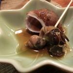 吉位寿司 - つぶ貝。