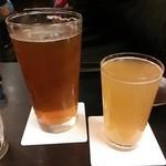 34876582 - ビールは大小選べます♪