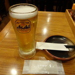杵屋 - 生ビール:378円