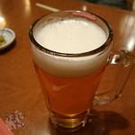 うなぎの沢栄 - スーパードライ 「生ビール」 600円