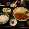 とんかつのせんば - 料理写真:鹿児島黒豚ロースカツ定食(200g) \2,160-