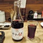 串かつあさひ - 赤ワイン