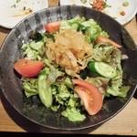 串かつあさひ - くらげサラダ