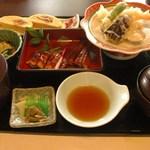 34882282 - 「天婦羅鰻御膳」(2000円)