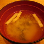 祭雛 - 味噌汁