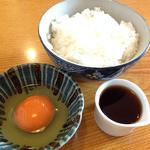 東家若竹分店 - 1日限定20食 『そば屋の玉子かけご飯』