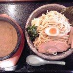 伊勢海老つけ麺(麺300g):781円+税8%【2015年2月撮影】