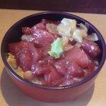 34887835 - 鮪ブツ丼っぽいが、一応ばらちらし(^_^;)