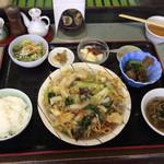 中国料理 頤和園 - 麺セット ¥850