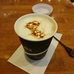 34888595 - カラメルミルクコーヒー(Sサイズ390円)