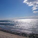 34889566 - 道路向かいの海岸線 見晴らし最高!