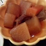 3489031 - ランチに付いてきた小鉢・大根の煮物
