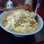 玉蘭 - タンメン。野菜が豊富に入っており、とってもヘルシーです。味噌タンメンもあり、こちらは大辛も選べます。