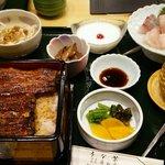 うな繁 - 松定食4000円